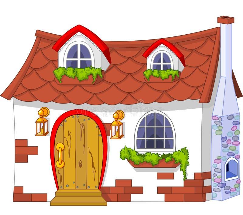 Casa pequena bonito ilustração do vetor