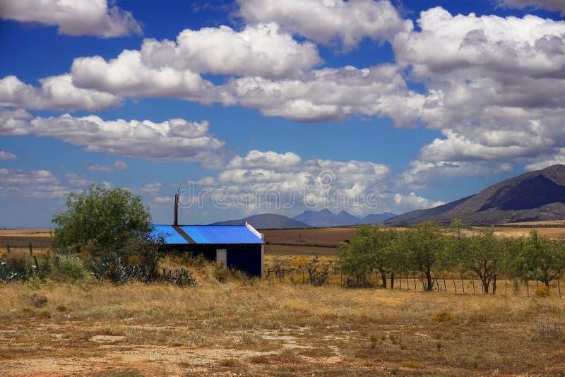 Casa pequena em África do Sul fotografia de stock royalty free