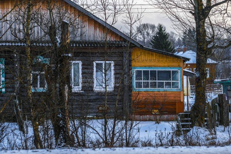 Casa piccola di Karelia fotografie stock libere da diritti