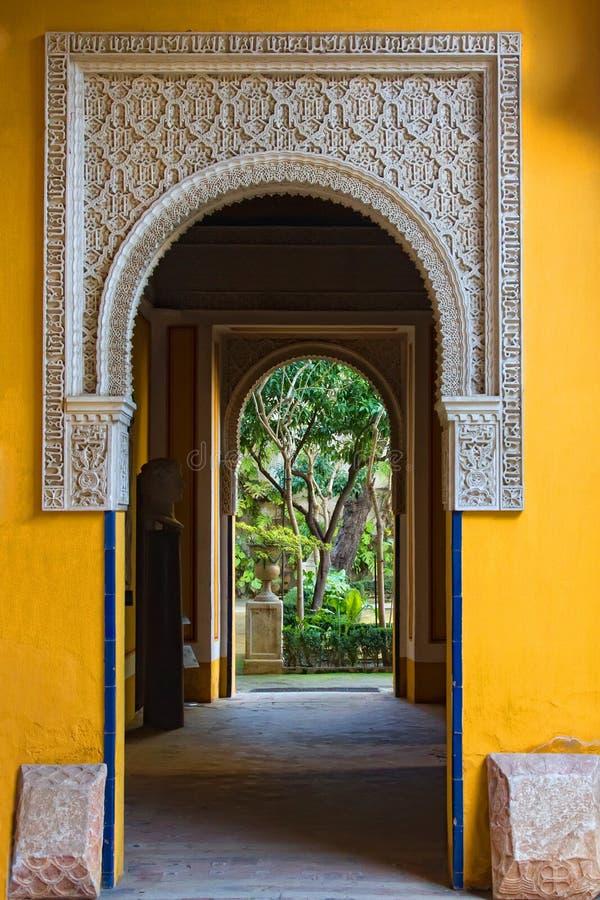 Casa Pilatos sevilla royalty free stock photos