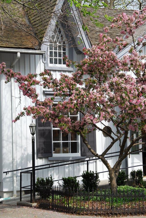 Casa pintoresca del Victorian foto de archivo libre de regalías