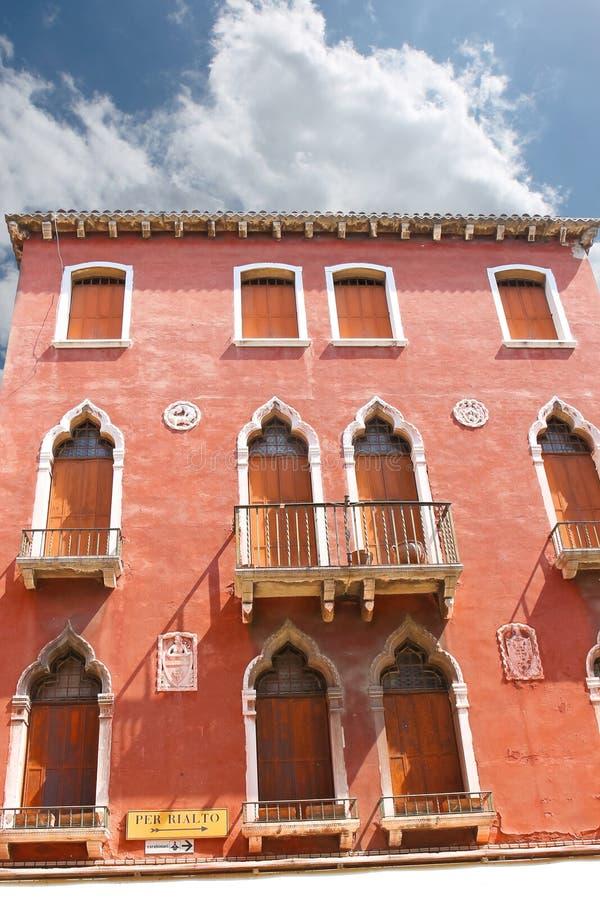 Download Casa Pintoresca En Venecia, Italia Foto de archivo editorial - Imagen de destinación, coloreado: 42433298