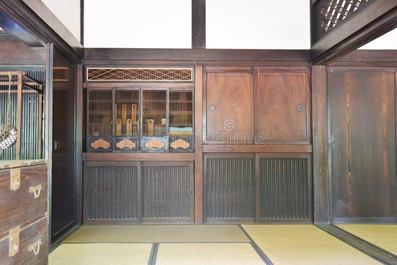 Casa popular vieja tradicional japonesa foto de archivo libre de regalías