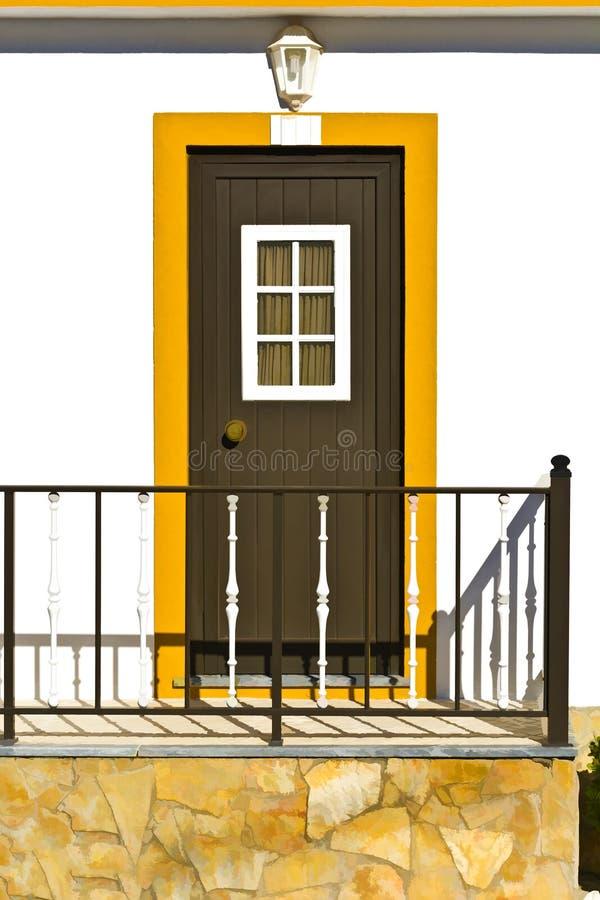 Casa portuguesa stock de ilustración