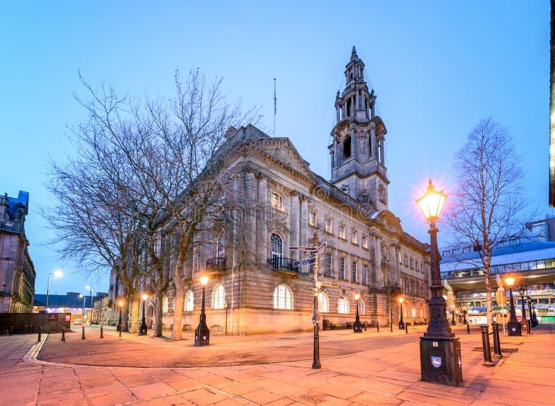 Casa Preston Reino Unido de la sesión imagen de archivo