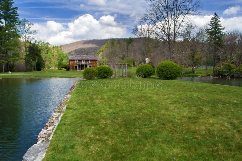 """Casa principal de la casa de campo del †de Glen Alton Farm """" imagen de archivo"""