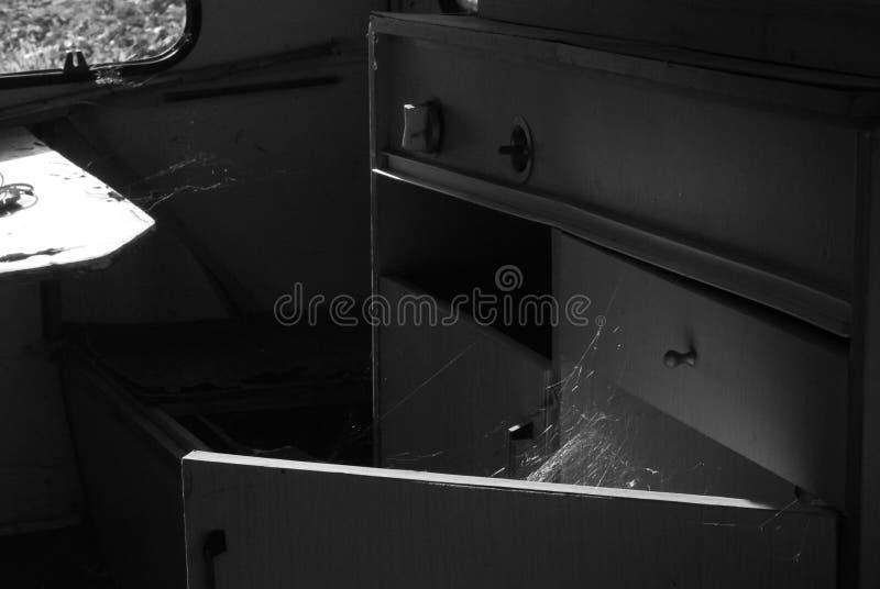 Casa quebrada foto de archivo
