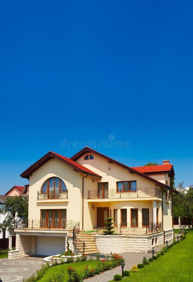 Casa residencial fotografia de stock