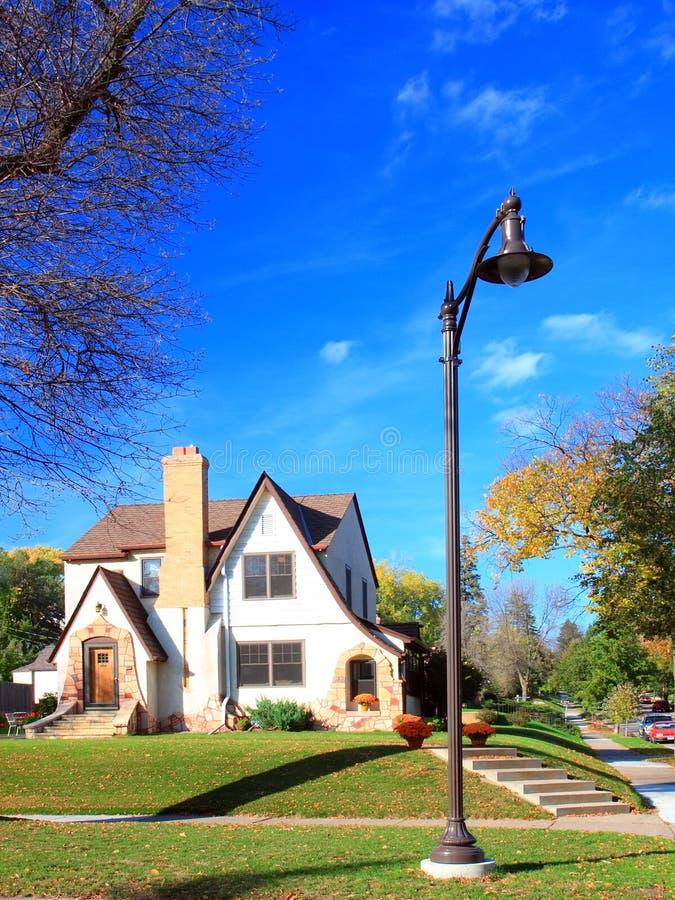 Casa Residencial Imagen de archivo