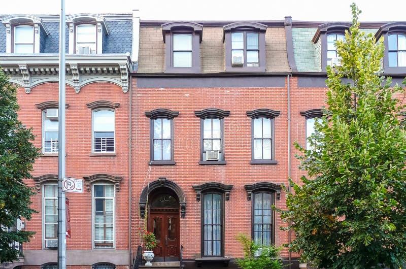 Casa residencial en Greenpoint fotografía de archivo