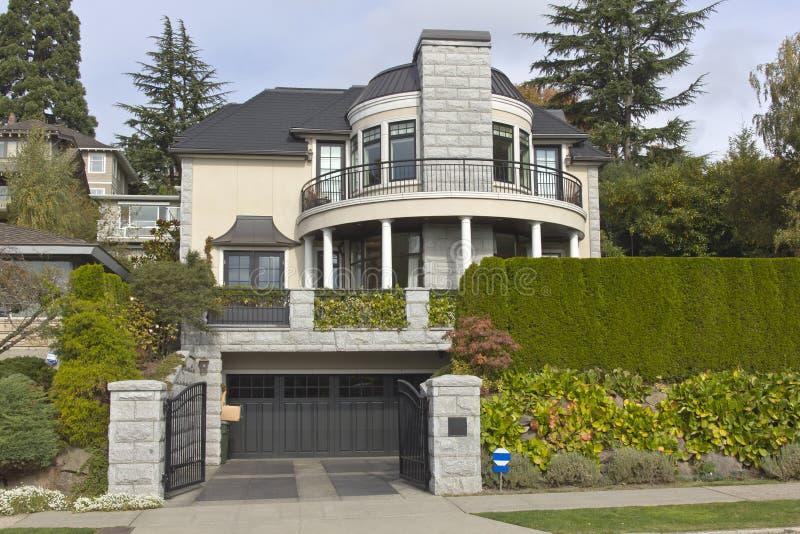 Casa residencial Seattle WA. imagenes de archivo