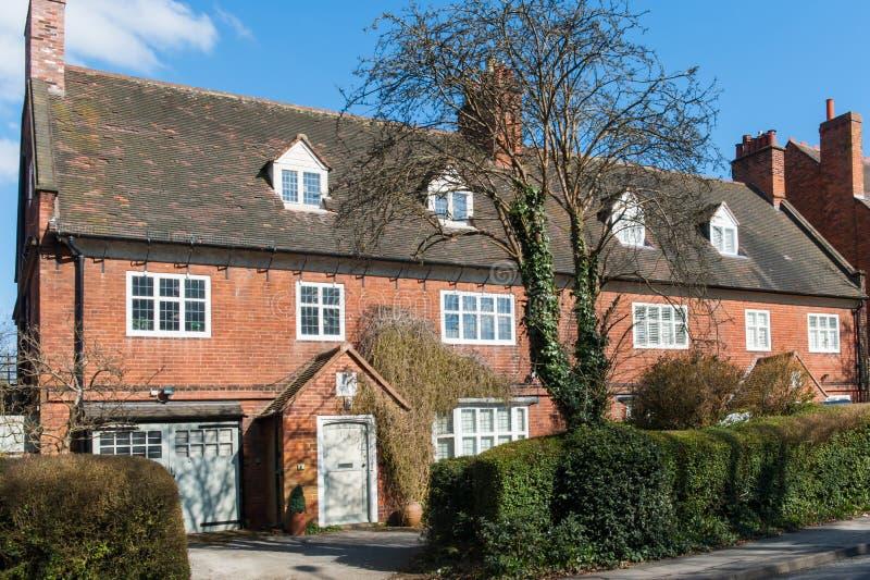 Casa residencial velha fotografia de stock royalty free