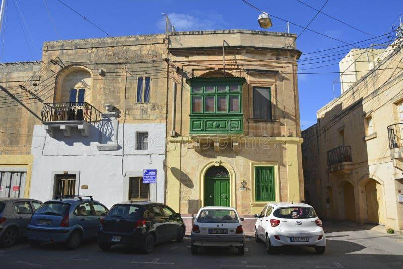 Casa residenziale in Mosta, Malta fotografia stock