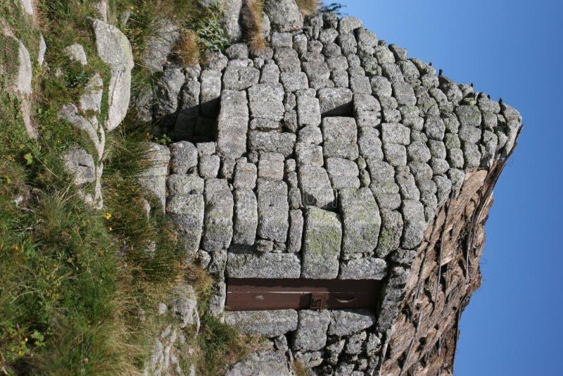 Casa rocosa foto de archivo libre de regalías