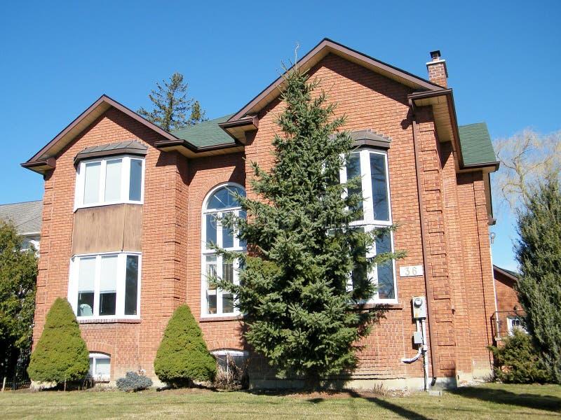Casa roja 2010 de Thornhill imagen de archivo libre de regalías