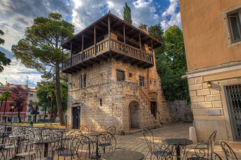 Casa Románica, Porec fotos de archivo