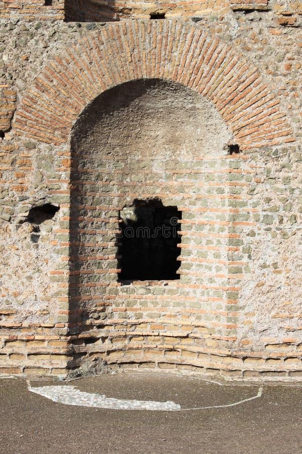 Casa romana antiga foto de stock royalty free