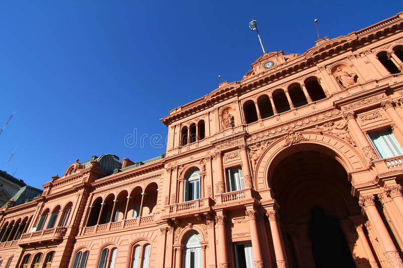 Casa Rosada. The Casa Rosada, the government building in Buenos Aires, the Capital of Argentina royalty free stock image
