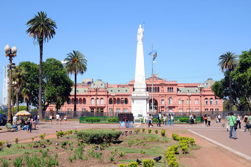 : Casa Rosada fotos de stock royalty free