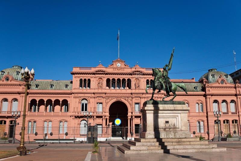Casa Rosada, Argentinas regerings- Seat i Buenos Aires arkivfoton