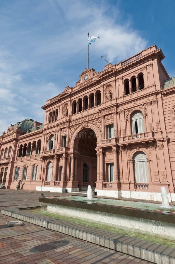 Casa Rosada At Buenos Aires Stock Images