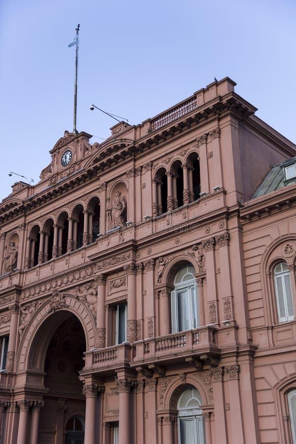 Casa Rosada in Buenos Aires. Argentina stock photography