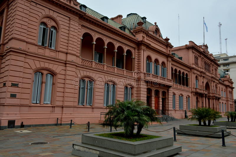 Casa Rosada. Buenos Aires, Argentina royalty free stock photography