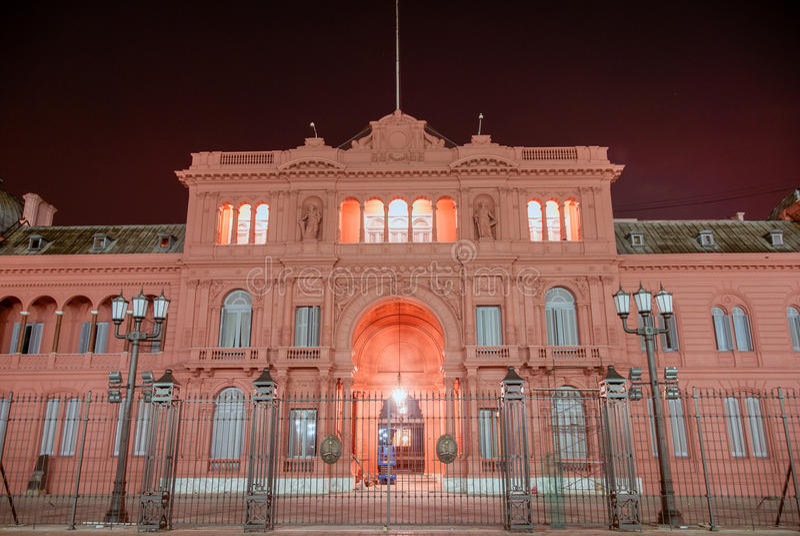 Casa Rosada - Buenos Aires, Argentina royalty free stock images