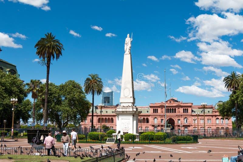 Casa Rosada, Buenos Aires Argentinien (różowy dom) obraz stock