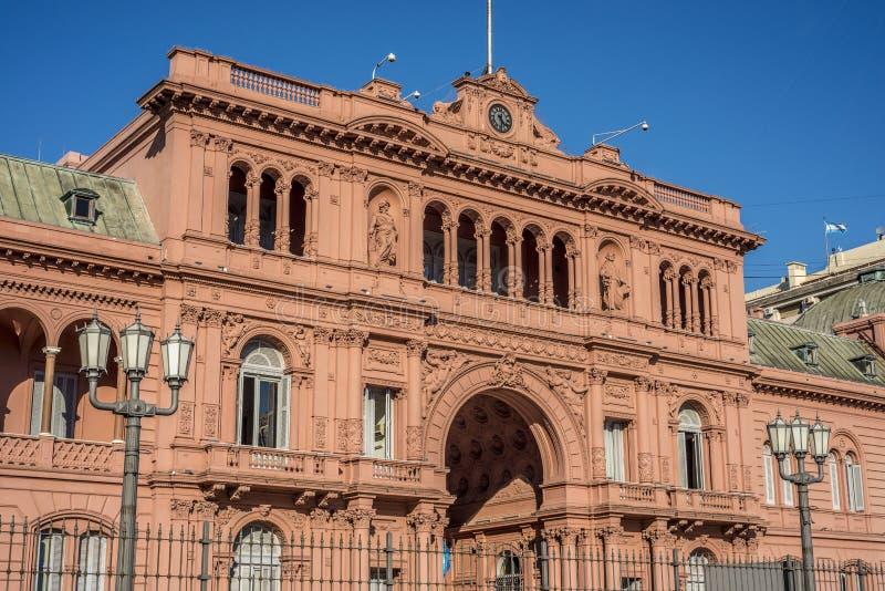 Casa Rosada Building In Buenos Aires, Argentina. Stock ...