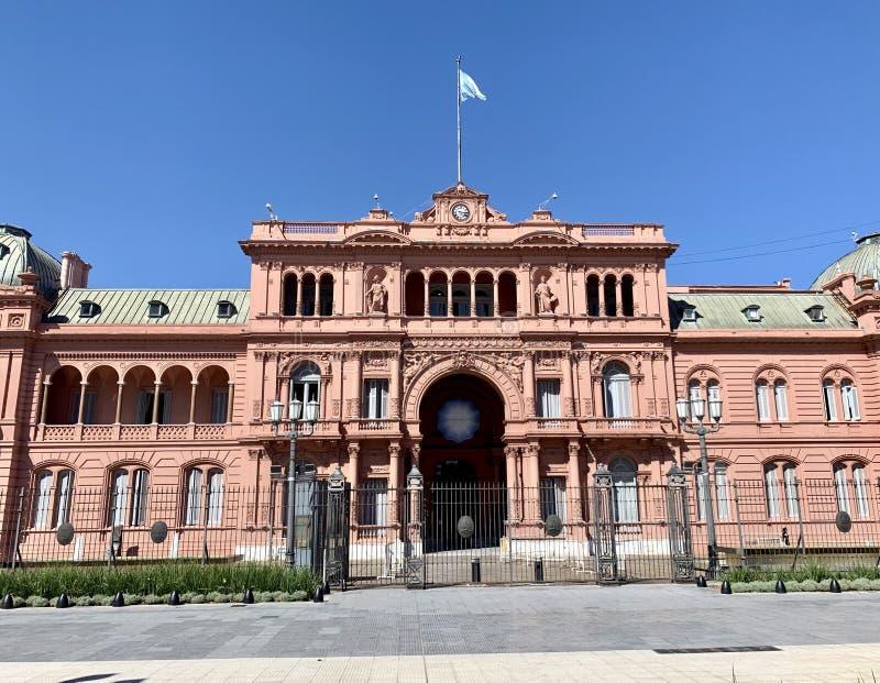 Casa Rosada royaltyfria bilder