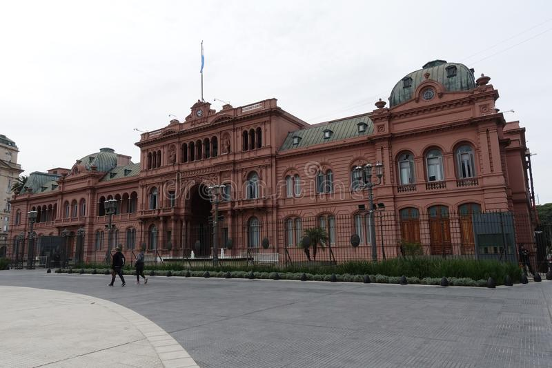 Casa Rosada lub Różowy dom w Buenos Aires zdjęcie royalty free