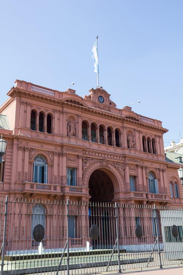 Casa Rosada menchii domu Prezydencki pałac Argentyna (Różowy Dom) May TARGET96_0_, Buenos Aires obrazy royalty free