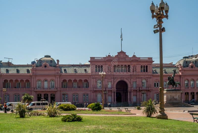 Casa Rosada - Pink House Stock Photo