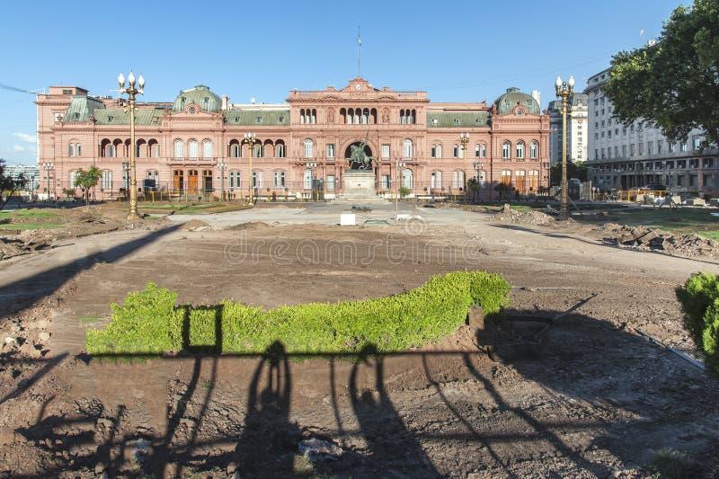 Casa Rosada, Buenos Aires, Argentina. stock images