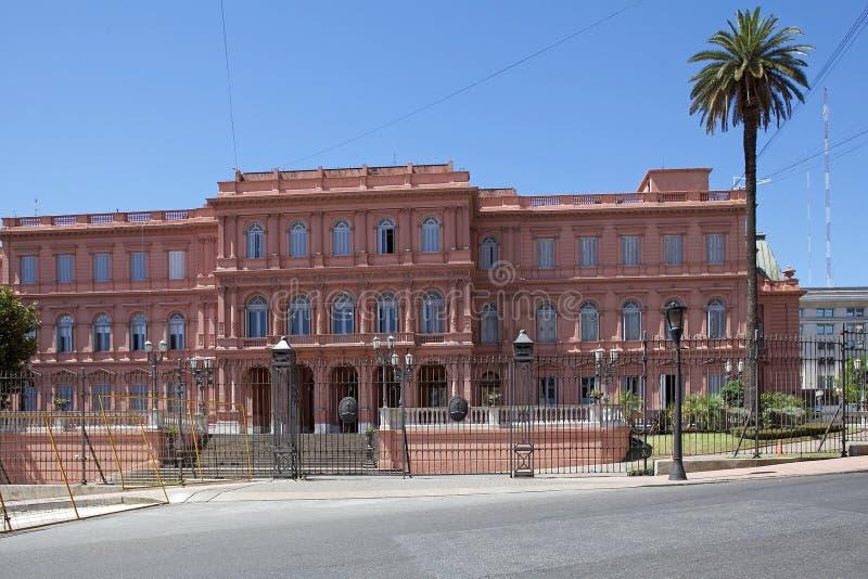 The Casa Rosada In Plaza De Mayo, Buenos Aires, Argentina ...