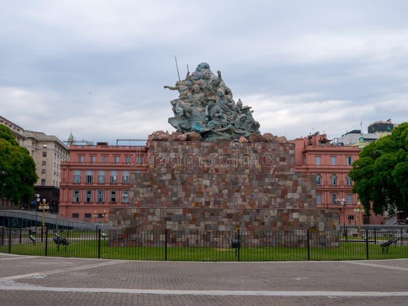 Casa Rosada, Presidential Palace of Argentin stock photos