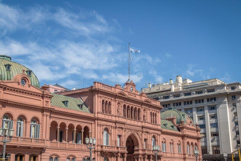 Casa Rosada Presidential Palace - Buenos Aires, Argentina stock photos