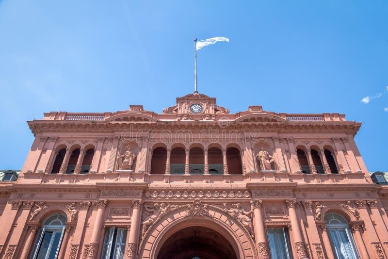 Casa Rosada Presidential Palace - Buenos Aires, Argentina stock photography