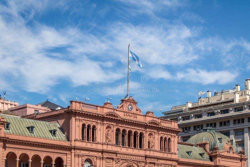 Casa Rosada Presidential Palace - Buenos Aires, Argentina stock images