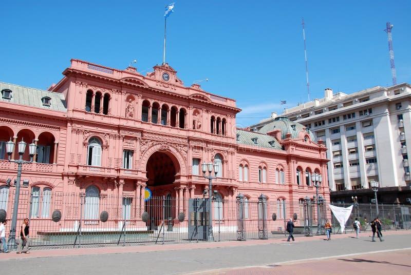 Casa Rosada (Różowy Dom) obraz royalty free