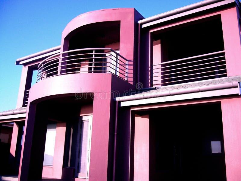 Casa roxa em Henley fotografia de stock royalty free