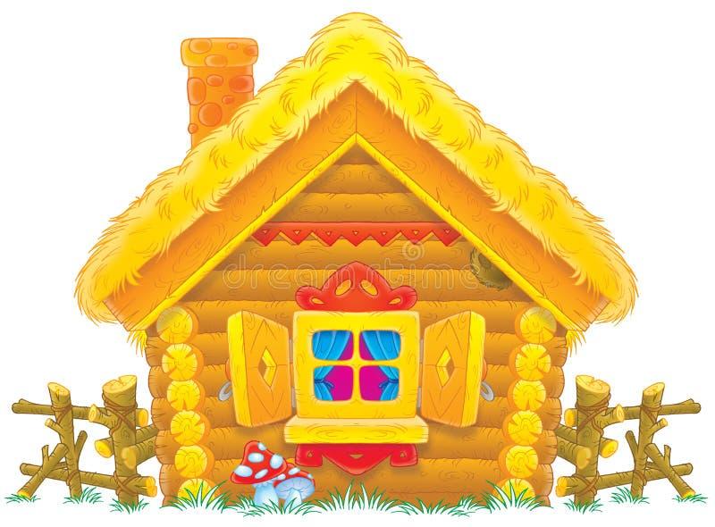 Casa rural ilustração stock