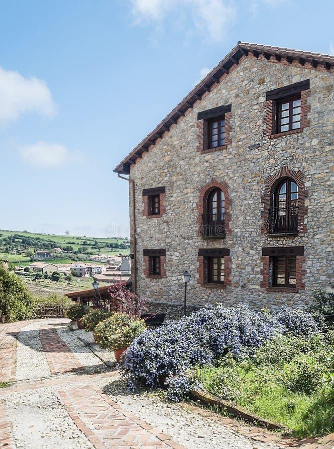 Casa rural de Santillana Del Mar fotografia de stock royalty free