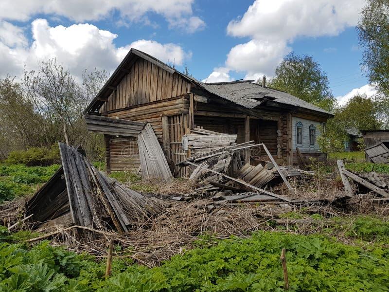 Casa rural vieja foto de archivo