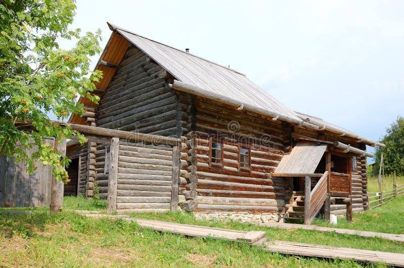 casa rurale russa tradizionale immagine stock immagine