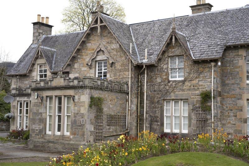 Casa se orial con el tejado de pizarra escocia foto de - Tejado de pizarra ...
