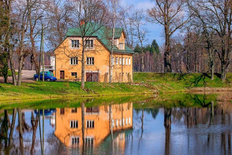 Casa señorial del castillo de Birini fotografía de archivo libre de regalías