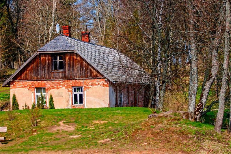 Casa señorial del castillo de Birini imagenes de archivo