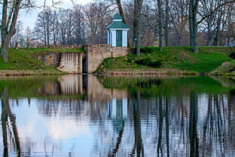 Casa señorial del castillo de Birini fotografía de archivo